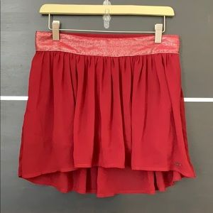 Hollister Flowy Hi-Low Mini Skirt
